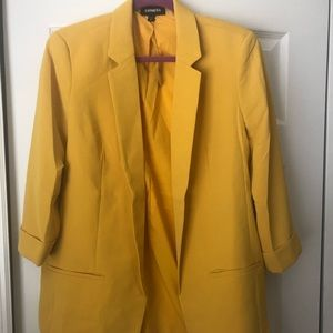 NWT Express Yellow Blazer